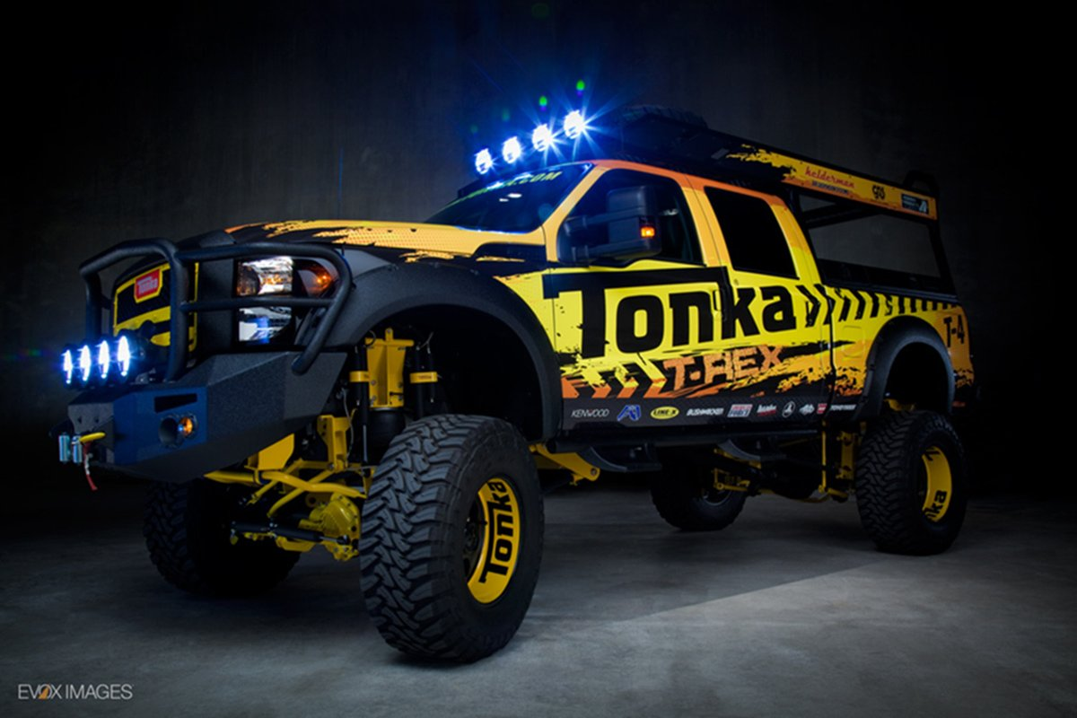 Tonka T-Rex: A 1:1 Scale Real-Life Big Boy's Toy