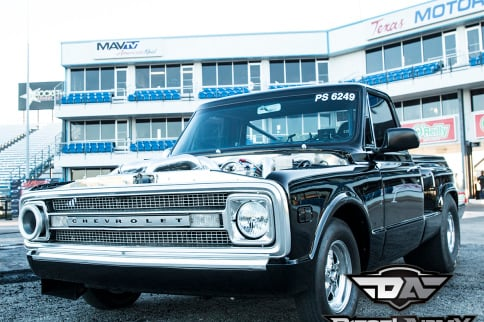 An Inspiring C10, Brett Deutsch's 8 second 1969 Duramax Powered C10