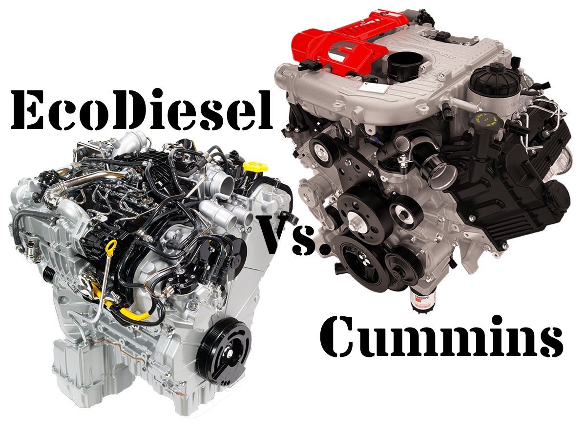 5.0L Cummins Vs 3.0L EcoDiesel Head To Head Comparison
