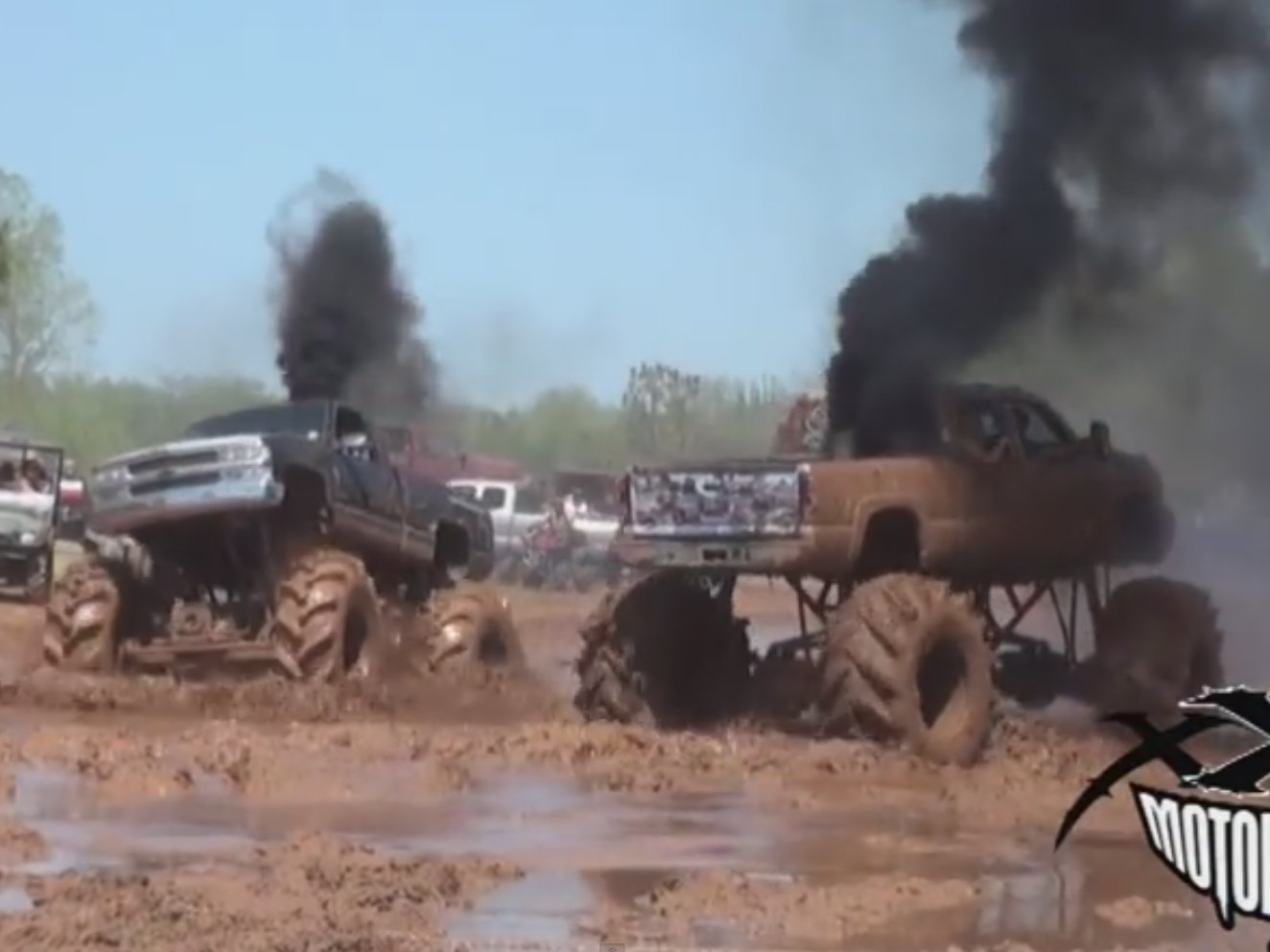 Truck Wheels And Tires >> Mudfest Carnage: See Diesel Trucks Muddin' and Breakin'