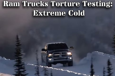 VIDEO: Ram Puts Their Trucks To Extreme Cold Weather Testing