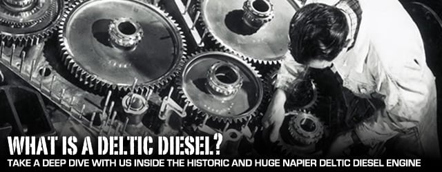 Significant Engines In History: How The Napier Deltic Diesel Works