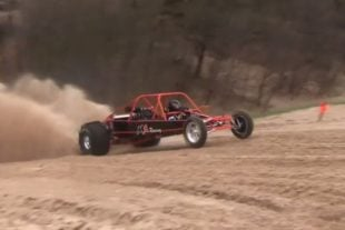 Video: Sandrail Gets Airborne And Goes For A Wild Ride