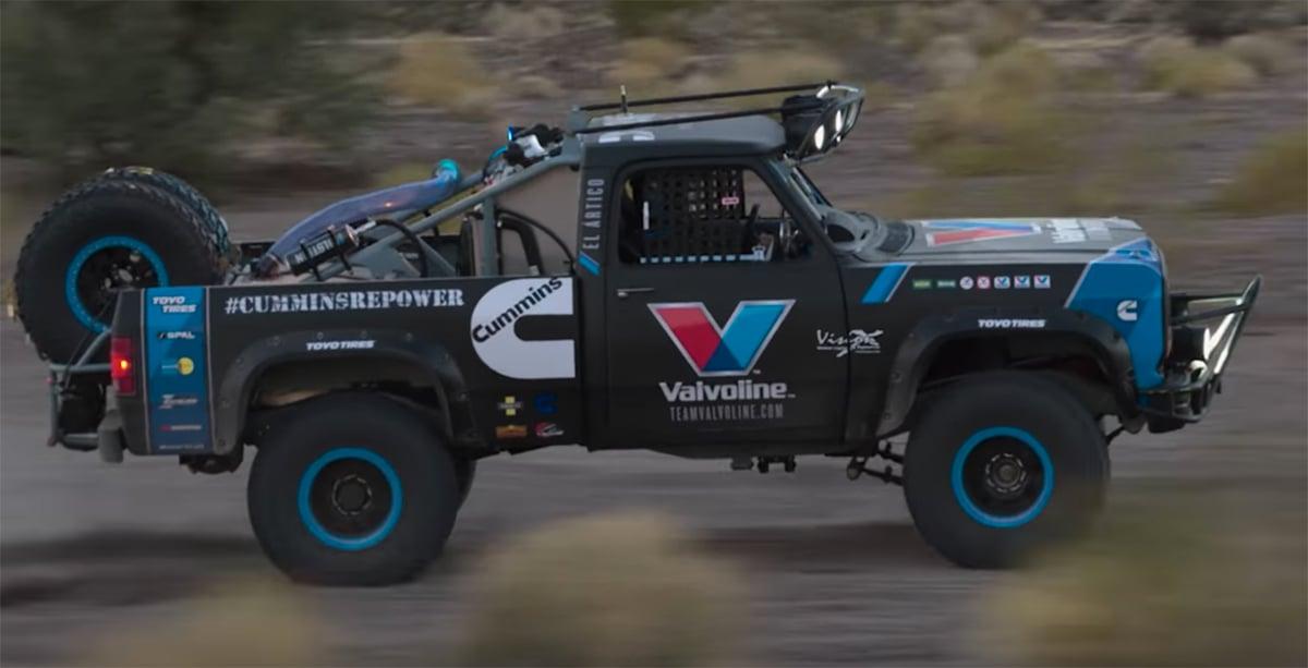 Build A Truck >> Video Valvoline And Cummins Build A Truck For Baja