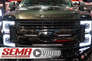 SEMA 2017: AnzoUSA Talks Super Duty Headlights And Taillights