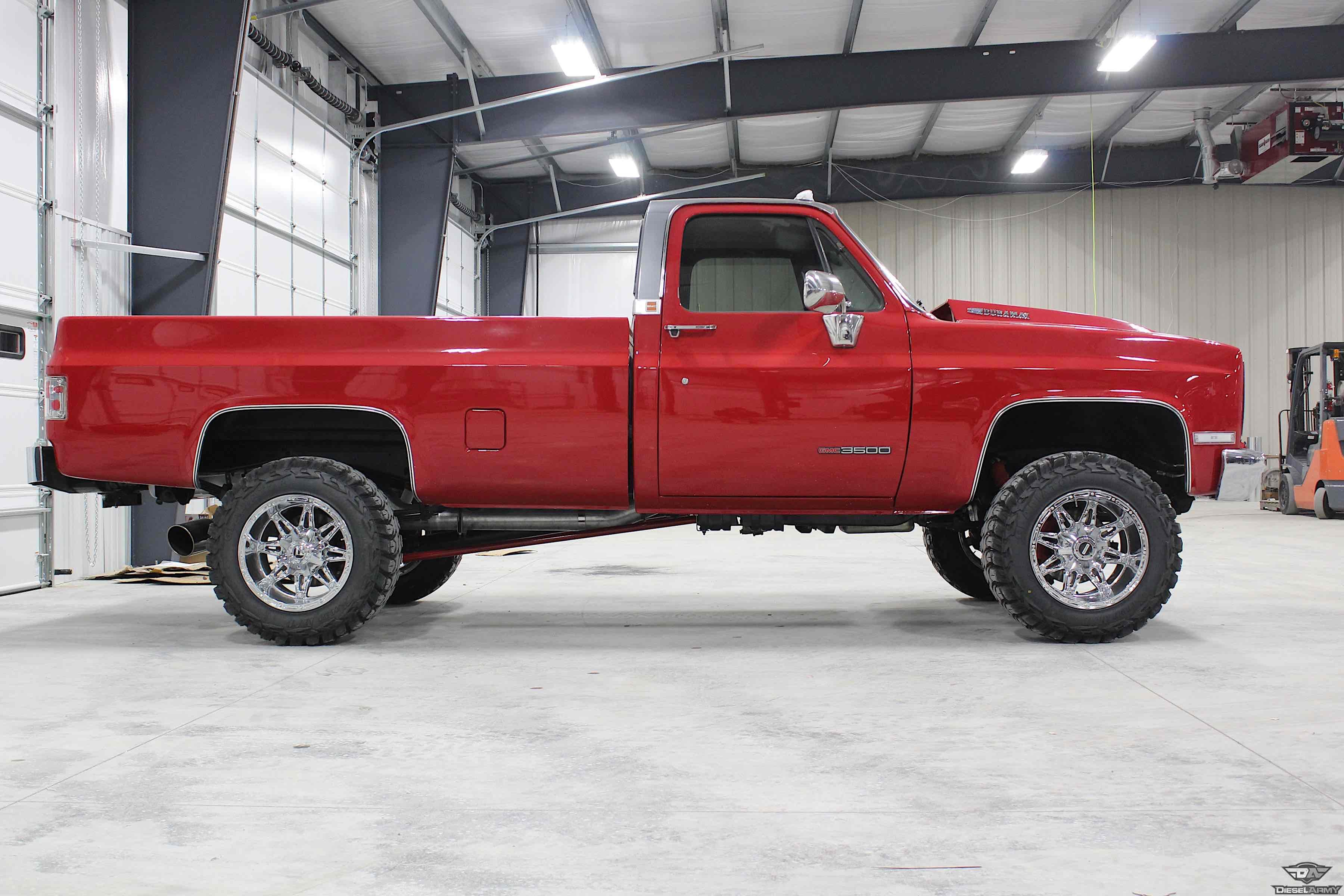 The Perfect Swap Lml Duramax Swapped 1986 Gmc