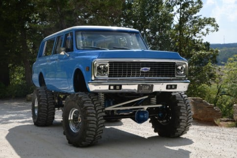 John Eilermann's LinCo Diesel Built LBZ Suburban: High Roller