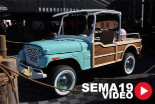 "SEMA 2019: Catching Ten With The ""Coastal Cruiser"" ROXOR Build"