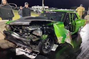Beloved Diesel Nova Involved In Heartbreaking Crash At Lights Out 11