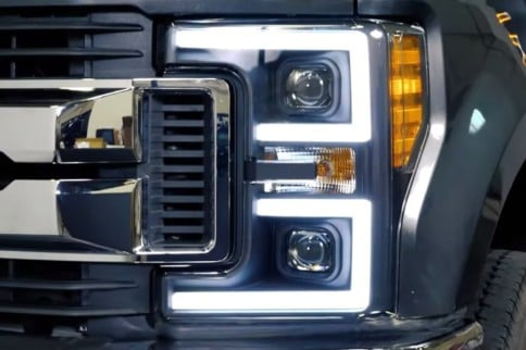 VIDEO: Anzo USA 2017-2019 Super Duty Projector Headlights Installed