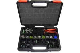 Weather Pack Quick Change Crimp Tool Kit From Pertronix