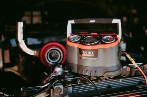Optima's Supercharger Saves The Day On Winter Weathered Batteries