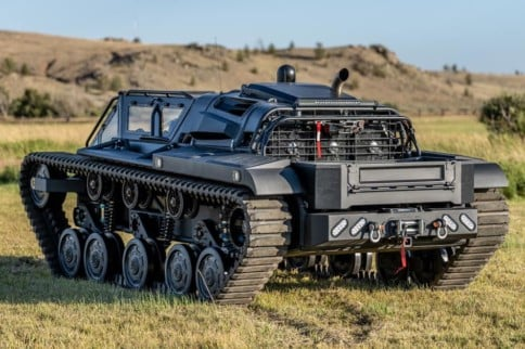 Duramax Powered RIPSAW F4 Super Tank Is Fastest In The World